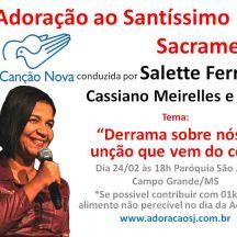 Adoração ao Santíssimo Salette Ferreira